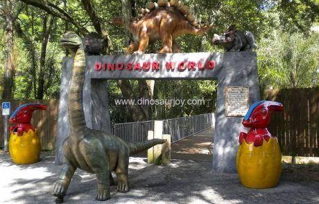 Dinosaur World Park Entrance Model
