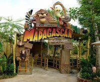 Customized Amusement Madagascar Animals Park Entrance