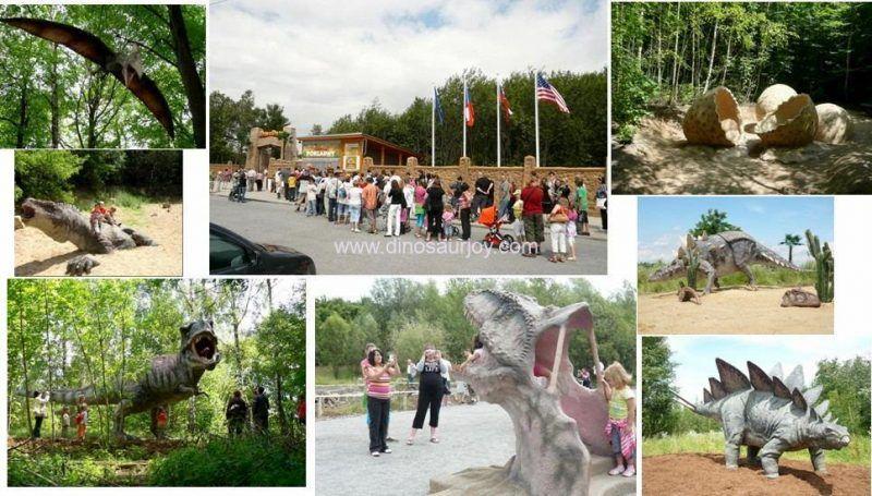 Europe cooperate Dinopark