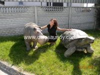 DWA108 Fiberglass turtle
