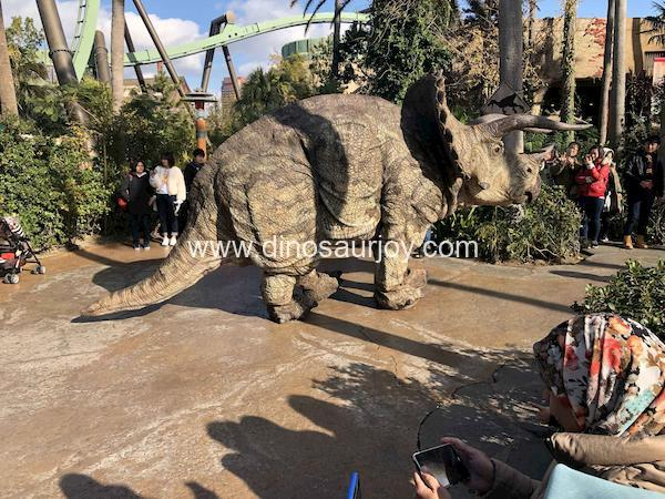 Triceratops-costume